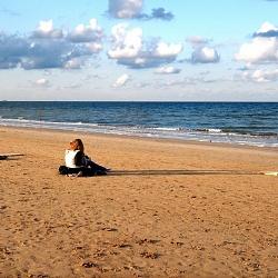 Rimini, un pomeriggio di fine settembre