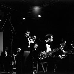 Ritrovando il piacere della pellicola - Concerto Jazz, Albino (BG)  - Kiev 60 - TRIX Kodak 3200 ASA