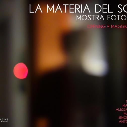 La materia del sogno - Bottega Immagine, Milano 2019