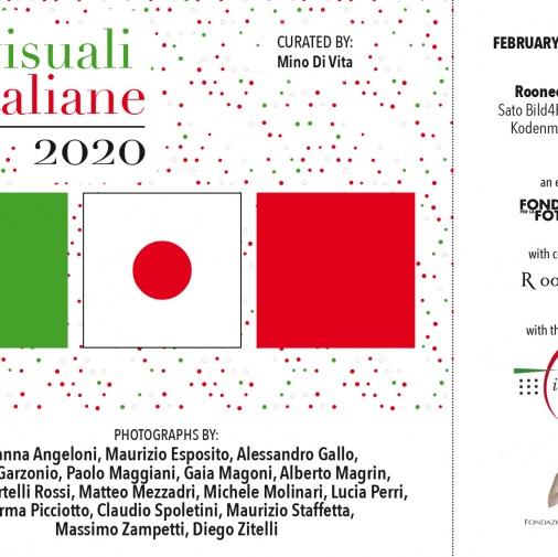 Visuali Italiane - Roonee Gallery, Tokio 2020