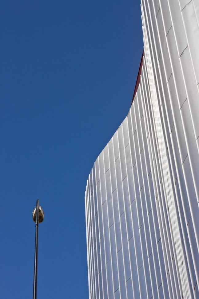 Urban Landscape - architecturals details of a industrial building fine art print available at www.art-mine.com