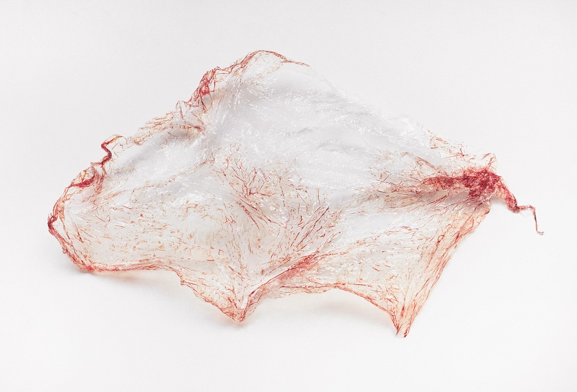 Sculpture I - menstrual blood
